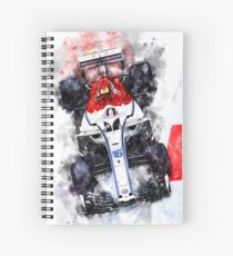 Charles Leclerc 2018 Spiral Notebook