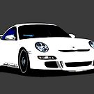Shift Shirts Second Coming- 997 GT3 Inspired by ShiftShirts