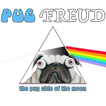 Pug Freud by thedeo