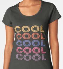 Cool Retro Typography Women's Premium T-Shirt