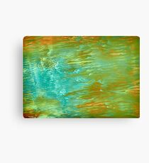 abstract landscape oil painting Canvas Print