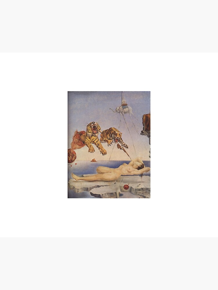 Salvador Dali Dream Caused by the Flight of a Bee around a Pomegranate a Second before Awakening. iphone 11 case