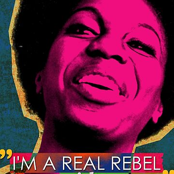 Nina Simone Quote by pahleeloola