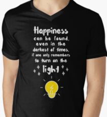 Happiness can be found Men's V-Neck T-Shirt