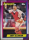 416 - Andy Allanson by Foob's Baseball Cards