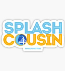 Splash Cousin Sticker