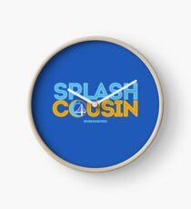 Splash Cousin Clock