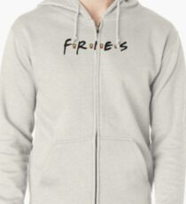 FRIES Zipped Hoodie