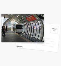 Sydney Monorail station, Darling Harbour (interior) Postcards