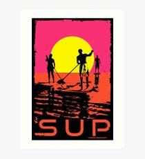 SUP Art Print