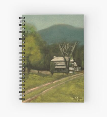PHILIP'S PLACE, Pastel Painting, for prints and products Spiral Notebook