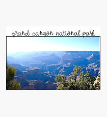 Grand Canyon Photographic Print