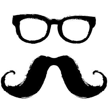 Mr. Mustache by MrD-Shirts