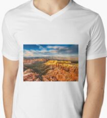 Bryce Canyon Valley Men's V-Neck T-Shirt