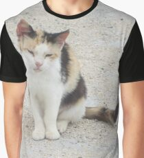 Stray Cat in Italy Graphic T-Shirt