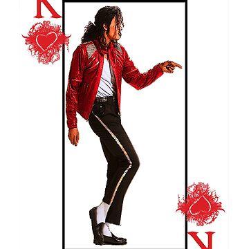 Playing Cards Michael Jackson king of pop t shirt by Washingtonsou
