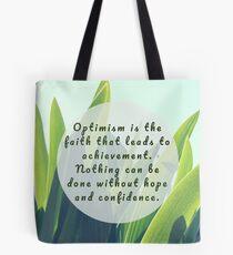 Leaves Quotation (Helen Keller #1) Tote Bag