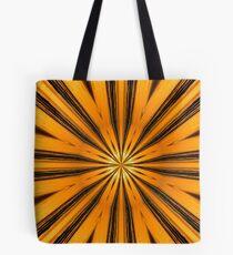 Golden Morning Kaleidoscope Tote Bag
