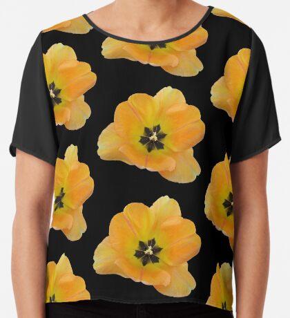 ein gelber Blütentraum, Tulpe, Tulpen Chiffontop