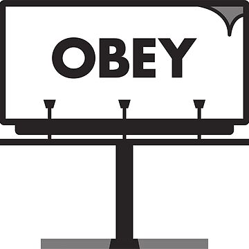 Obey Billboard by vladmartin