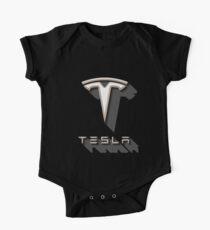 Tesla Shadow Sticker One Piece - Short Sleeve