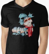 Labyrinth Worm Men's V-Neck T-Shirt