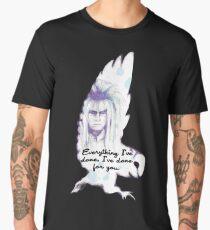 Labyrinth Everything I've Done Owl Men's Premium T-Shirt