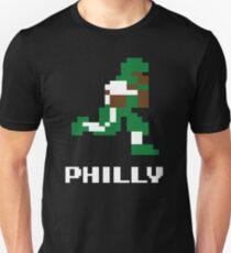 8 bit Philly Football 1 Unisex T-Shirt
