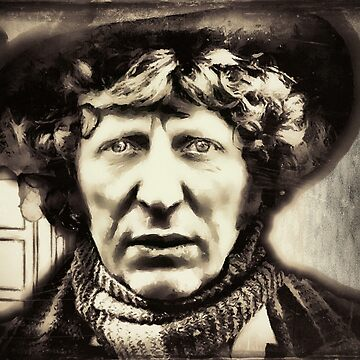 The 4th Doctor, My Doctor by Rob-Rad-Artwork