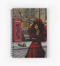 Ghosts in London Spiral Notebook
