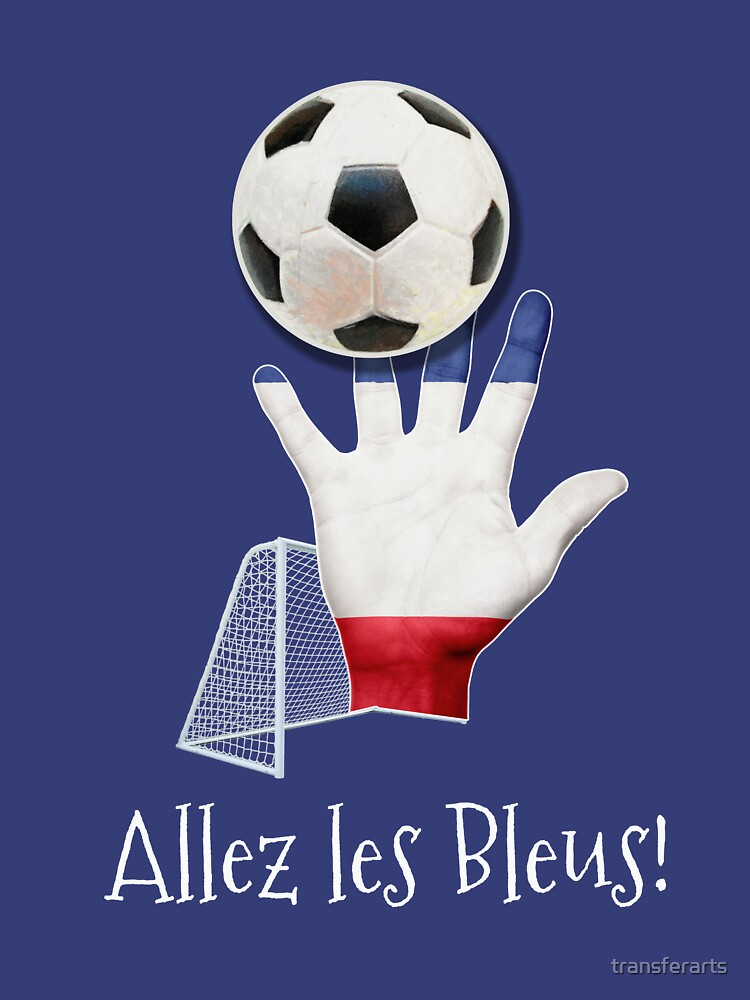 Allez les Bleus! French Sports Classico Match Products by transferarts