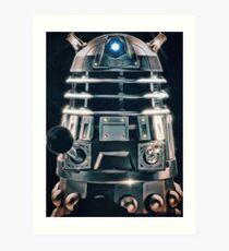 Acrylic Dalek Art Print