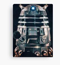 Acrylic Dalek Canvas Print