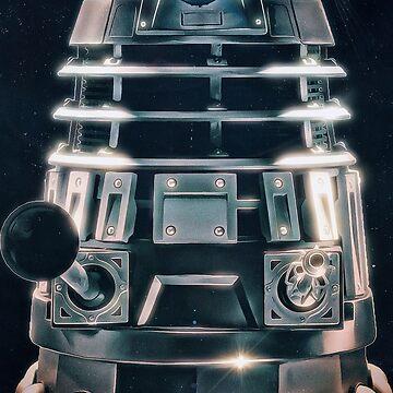 Acrylic Dalek by Rob-Rad-Artwork