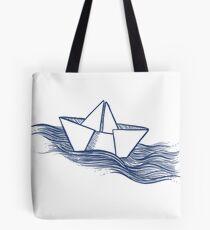 Schiff – dunkelblau Tasche
