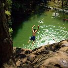 Cliff Jumping by Appel