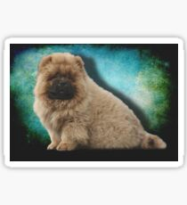 Oso the Chow Chow Puppy Dog Sticker