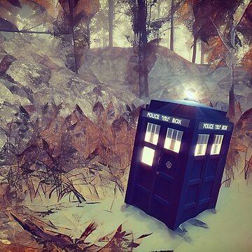Tardis Lands On The Planet Tarissima by Rob-Rad-Artwork