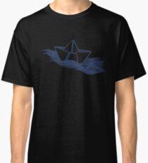 Schiff – dunkelblau Classic T-Shirt
