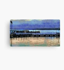 Two Jetties Canvas Print