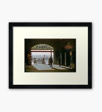 Canns Flinders Street Station 19570103 0036 Framed Print