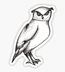 The Rest of the Owl Sticker