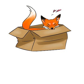 Fox in a Box by Goldarcanine