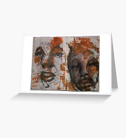 sketch book Greeting Card