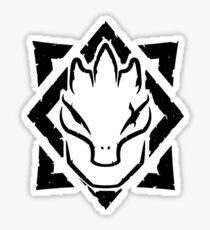 SAXHLEEL (black) Sticker