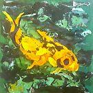 Fish (acrylic) by Niki Hilsabeck