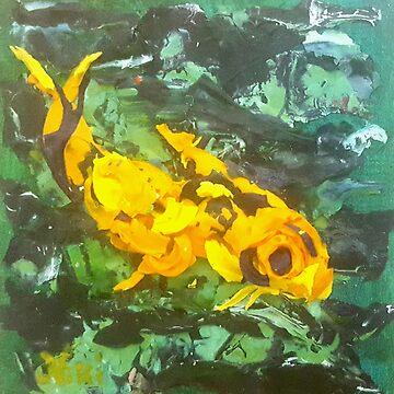 Fish (acrylic) by nikihilsabeck