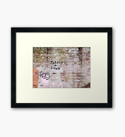 And the Beat Goes On Framed Print