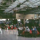 Waiting at Inverness Railway Station Scotland 19840915 0001 by Fred Mitchell