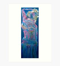 Blue (please view full size) Art Print